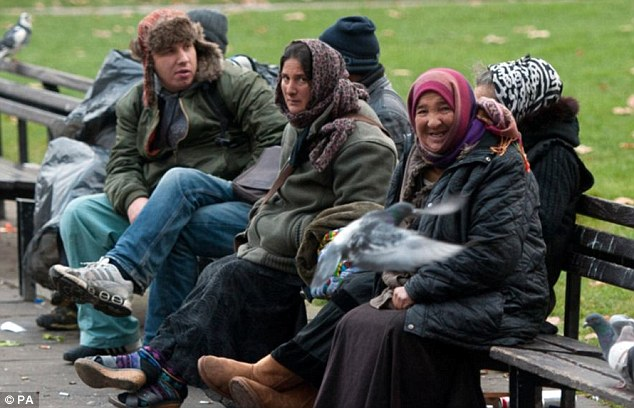 Estimate: Mr Draghici says that Britain's cold weather will put off migrants, and he expects around 3,000 to enter after Britain after January 1