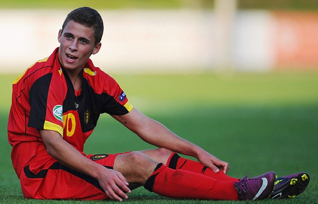 Loan star? PSV Eindhoven have confirmed they want Chelsea's Thorgan Hazard, brother of Eden, on loan