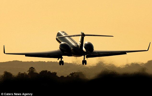 Revellers will party in Sydney Australia, and then board a private jet which will fly 13 hours to Los Angeles, US