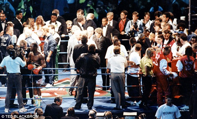 Catalyst for change: Michael Watson suffered severe brain trauma after his fight with Chris Eubank in 1991