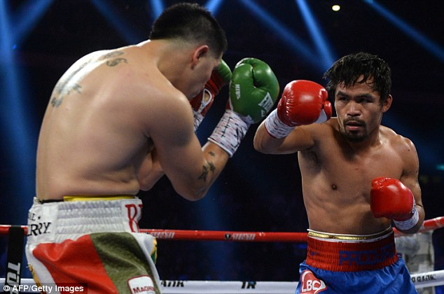 Still got it: Manny Pacquiao returned to winning ways with a comprehensive win over Brandon Rios