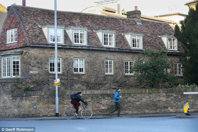 Student life: These are the lecture rooms for the Cambridge Programme for Sustainability Leadership in the city of Cambridge where Prince William is going to be studying agriculture for the next ten weeks
