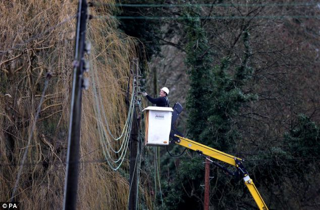 Her comments came as many faced yet another day without power today, a week after they were cut off, despite claims by engineers the last homes had been reconnected