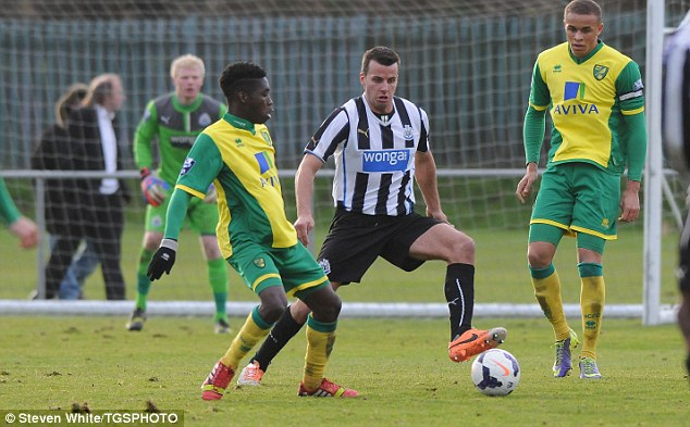 Moving on: Steven Taylor is set to leave Newcastle after being frozen out of the first team