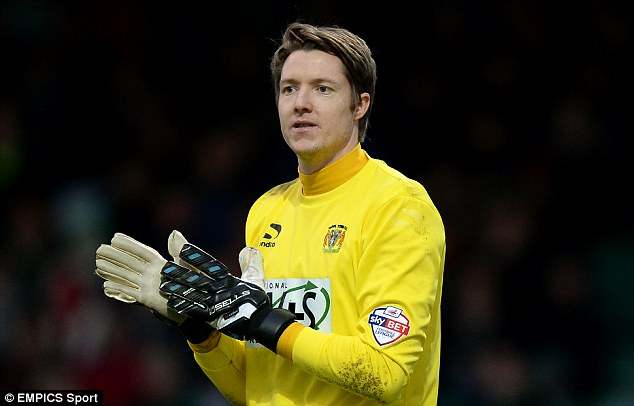 Loan ranger: Hennessey appeared 12 times for Yeovil in the Championship earlier this season