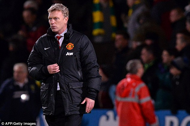 Worry: Manchester United manager David Moyes could be without his star strikers for the Tottenham game