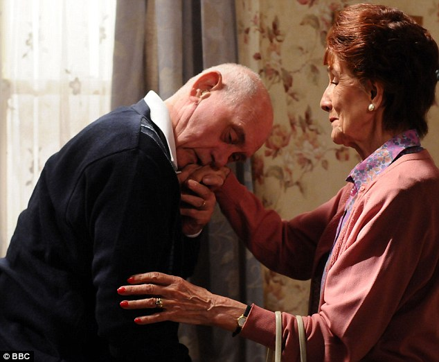 Ambitions: The veteran actress, who plays Dot Branning in the BBC soap, doesn't feel her character has had a good storyline for several years since her on-screen husband John Bardon was written out of the show due to poor health