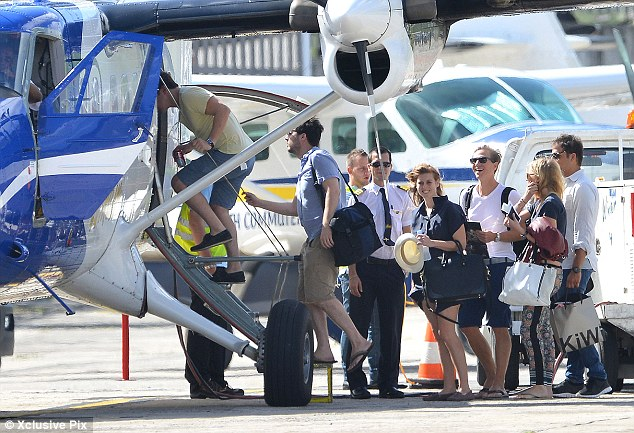 Unsurprising: The Princess didn't fly on Easyjet - she took a private jet, instead