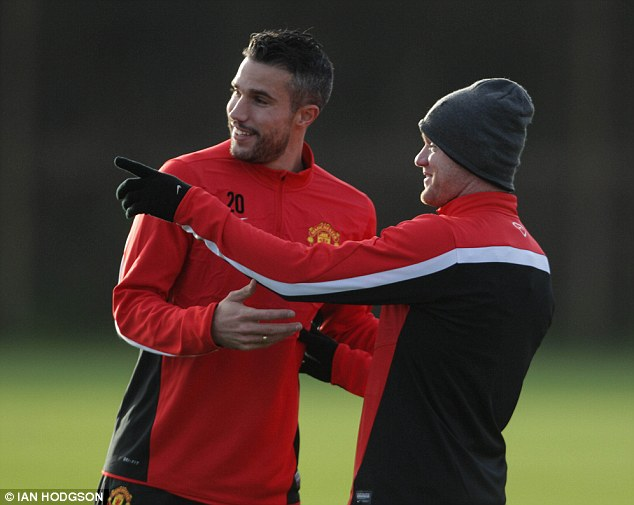 Talent: Robin van Persie is arguably the only world class talent United have signed since Rooney's last contract row