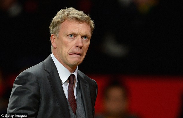 Struggling: David Moyes has endured a difficult first season at Old Trafford, but enjoys a good relationship with Rooney