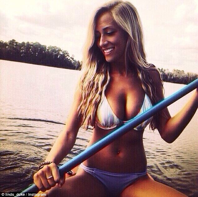 Gorgeous: Meet Lindsey Duke, the newest addition to a storied history of beautiful and widely adored girlfriends of top NFL prospects