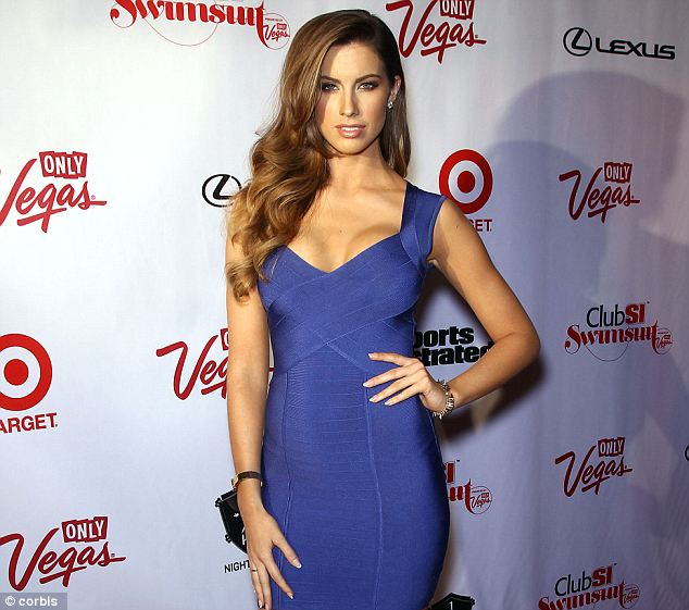 Duke's popularity places her in league with Katherine Webb, the former Miss Alabama and girlfriend of 2013 draft favorite A.J. McCarron who rose to fame after being spotted in the stands by an ESPN cameraman