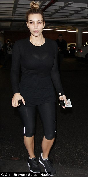 Kim Kardashian makeup free as she gets a pedicure and a massage in Beverly Hills. <P> Pictured: Kim Kardashian <B>Ref: SPL675017  030114  </B><BR/> Picture by: Clint Brewer / Splash News<BR/> </P><P> <B>Splash News and Pictures</B><BR/> Los Angeles: 310-821-2666<BR/> New York: 212-619-2666<BR/> London: 870-934-2666<BR/> photodesk@splashnews.com<BR/> </P>