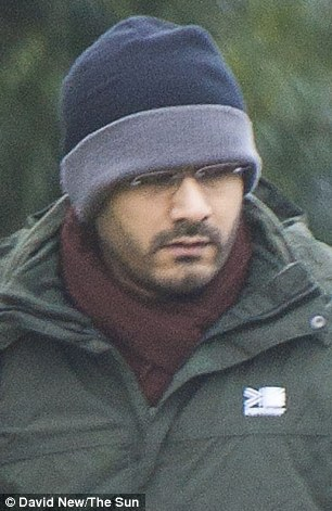 Skype murder: Ammaz Qureshi, 35, has been charged with the killing of a one-year-old in Norway