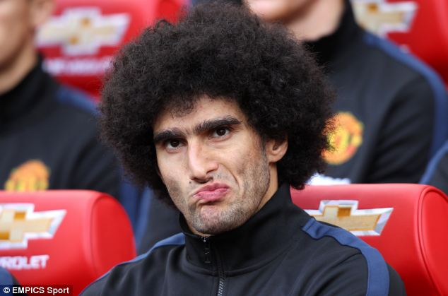 Fans chanted 'Fellaini give us a wave' and 'there's only one Maruoane Fellaini' at Rev Rose, as the Nottingham Forest supporter watched Man Utd play recently
