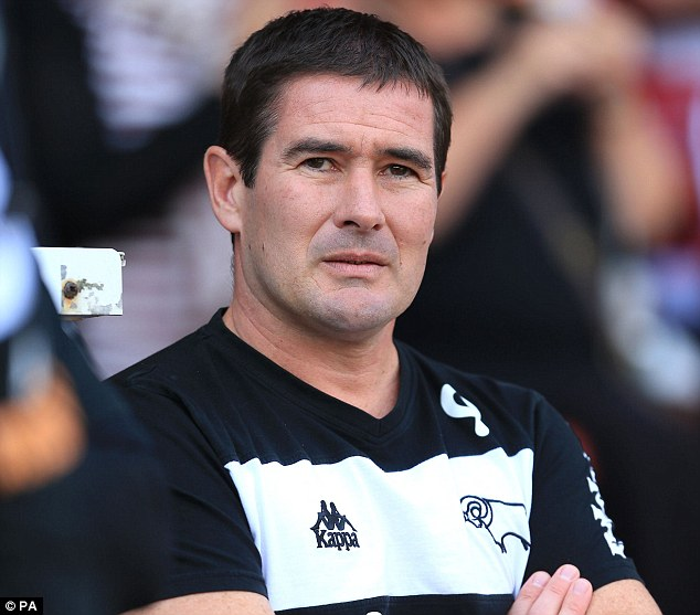 Sacked: Clough was sacked by Derby County in September and took over at Sheffield United in October