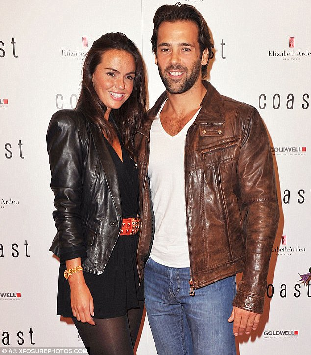 Past love: Jorgie is best pals with Jennifer Metcalfe, who used to date Slyvain after meeting on the show