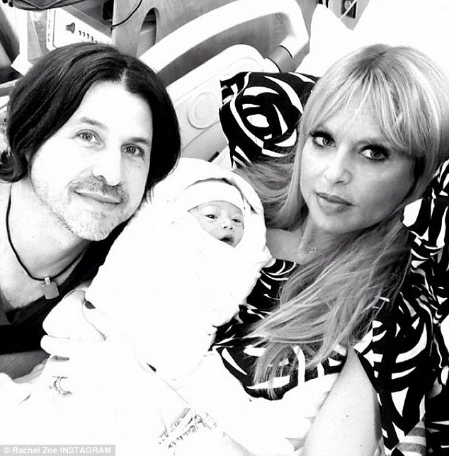 New family member! Zoe introduced Kaius Jagger to the world on her blog