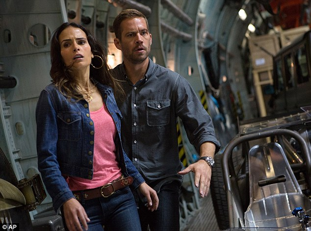 Final scene: Jordana films a scene in Fast and Furious 6 with Paul Walker, who died November 30 in a car crash