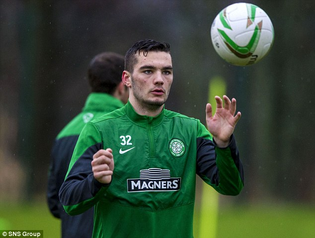 Home again: Tony Watt is also back in Glasgow for the winter break but will likely end the season at Lierse