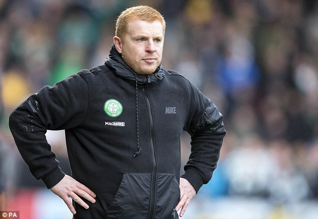 Sign 'em up: Celtic manager Neil Lennon is looking to strengthen a number of positions in January