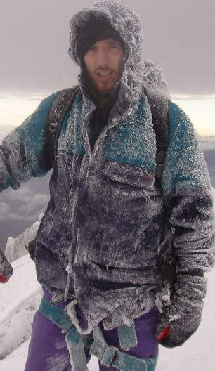 Miracle escape: Ken Jones attempted a solo ascent of Moldoveanu Peak in Transylvania in 2003