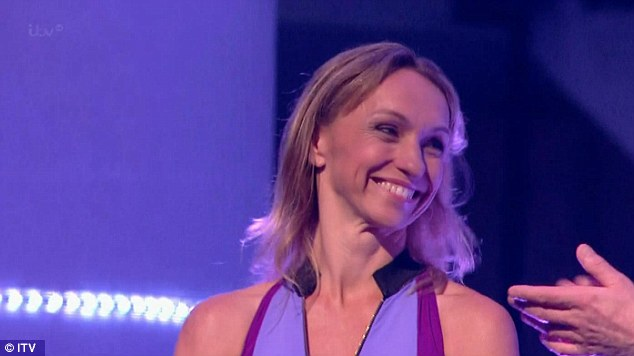 Triumph: Michaela Strachan did well in the competition, with a score of 21 out of 30