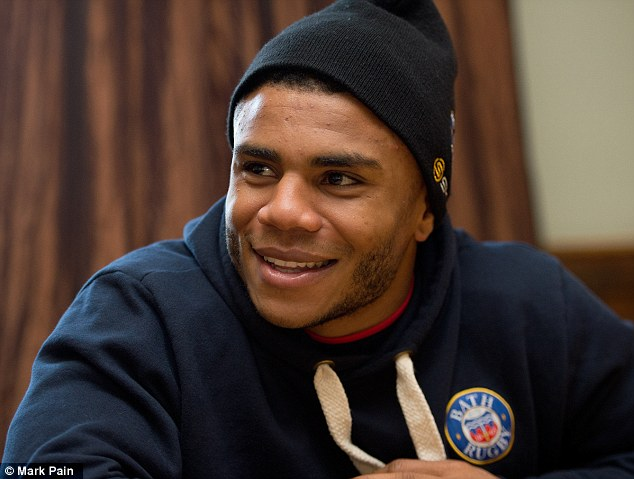 All smiles: Eastmond admits his time in Bath was hard to begin with as he was injured when first arrived