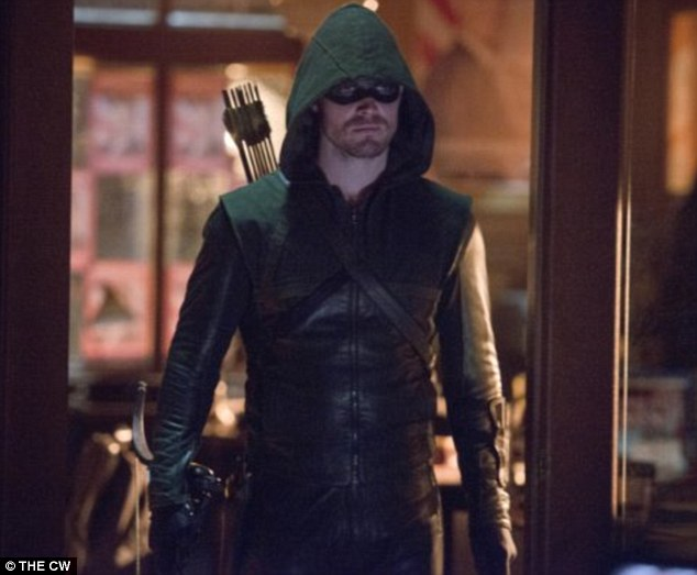 Big break: And Stephen's show Arrow returns on Wednesday, Jan. 15 on the CW network