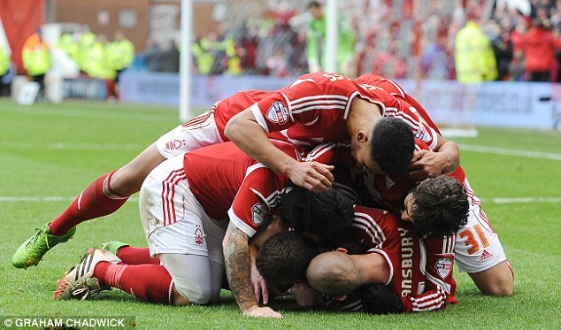 Bundle: Sunday's victory is among the best victories in recent years for Nottingham Forest