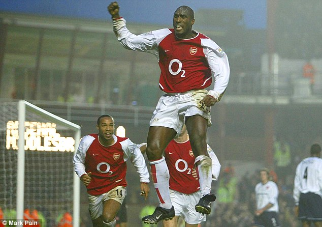 Controversial: Sol Campbell shocked the football world when he left Tottenham for Arsenal in 2001