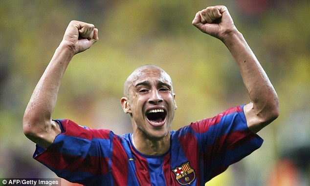 Decorated: Henrik Larsson was among the shrewdest signings in recent years when he joined Barcelona