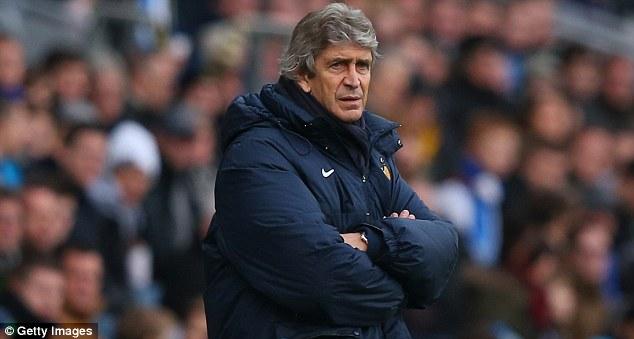 Stalemate: Manuel Pelligrini's City couldn't overcome a spirited Blackburn side