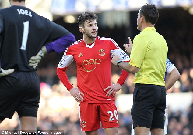 Ridiculous: What Mark Clattenburg supposedly said to Adam Lallana was not worth mentioning