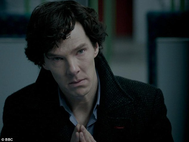 Sherlock in happier times, when he was his usual intense, miserable self, decrying wedding as 'celebrations of all that is false and specious and sentimental and irrational in this ailing and compromised world'