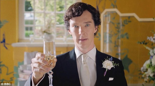 'Please charge your glasses and be upstanding...' For someone who traditionally prides himself on being so unconventional, Sherlock's conduct during the stag-do and Watson's wedding was disappointingly tame and occasionally embarrassing fare