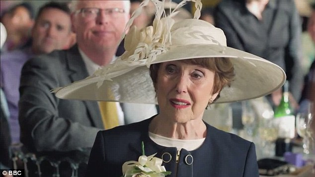 During Sherlock's best man's speech, even Mrs Hudson (the excellent Una Stubbs) began to realise how irritating and unlikeable Holmes had become