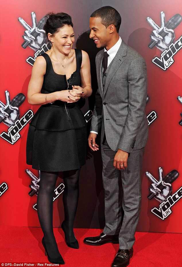 New year, new hosts! Emma Willis and Marvin Humes looked suitably stylish at The Voice launch