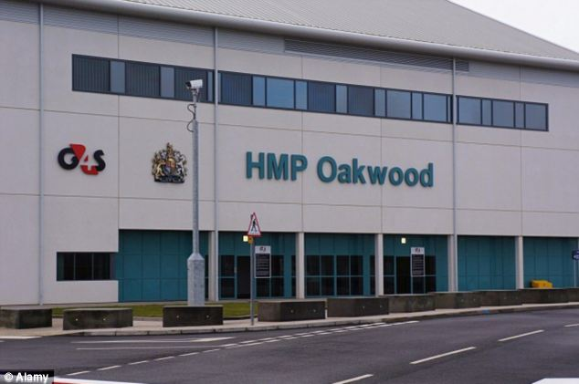 Scene: The riot took place between 5pm yesterday and 2am today at the jail (pictured) in Wolverhampton