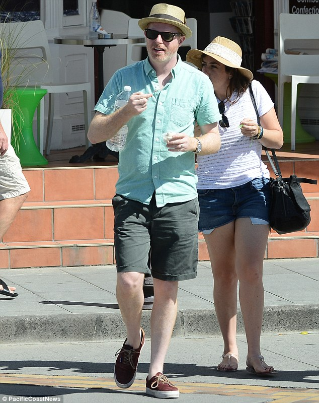 Hit show: Jesse was taking a break from filming the fifth season the hit ABC comedy show Modern Family