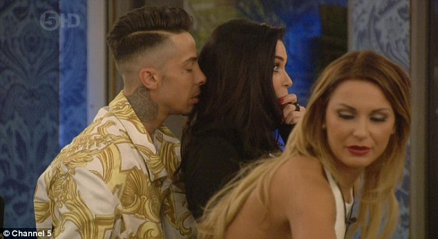 Do you like bad boys? Dappy got close to Jasmine just hours after entering the house
