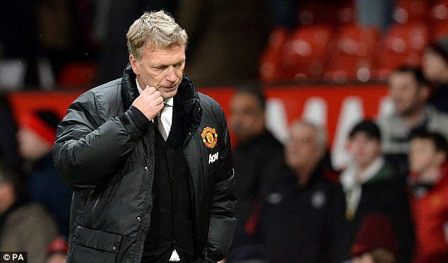 Struggles: David Moyes has endured a troubled start to life as United manager