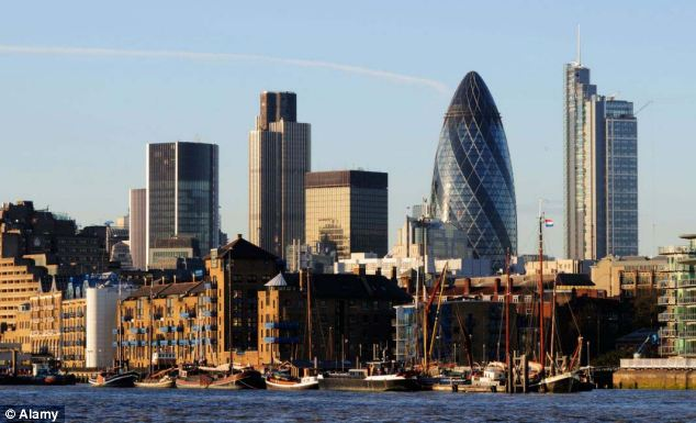 Soaring: The price of everyday essentials such as groceries, accommodation and travel expenses, is rocketing in London, further squeezing hardworking families who still earn thousands less in real terms than in 2010