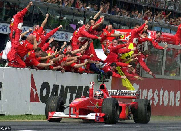 Dangers: Seven time F1 champion Michael Schumacher was more concerned about possible mishaps off the track than dangers on the circuit, he told an interview in 2010
