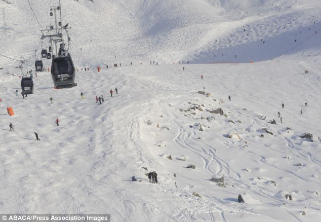 Prosecution: French prosecutors may be preparing to charge the operators of the ski area in Meribel where Michael Schumacher was seriously injured, pictured, after hitting his head on a rock
