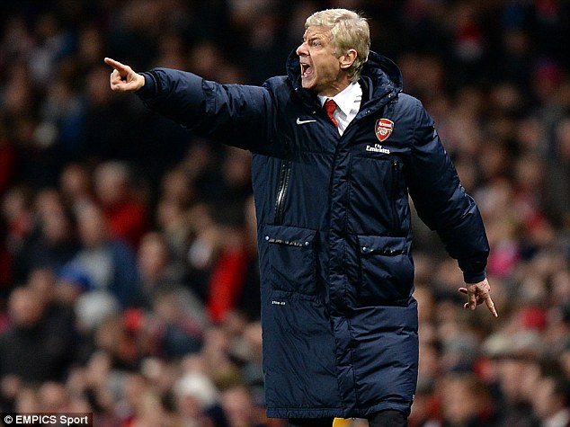 Blow: Arsene Wenger will be without one of his star players for the remainder of the season