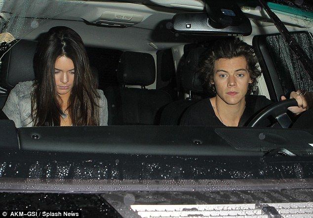 Personal: reports suggest Harry wants to make sure their relationship is kept out of the public eye