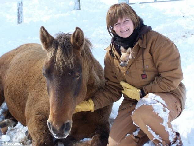 Mother of two, Sharon Campbell-Rayment, 50, who runs a horse riding school in Ontario had never been to Scotland before the accident in 2008
