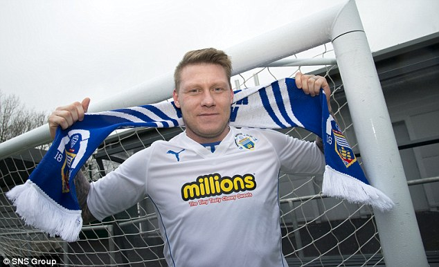Cappielow calling: Gary O'Connor has been granted a chance by Shiels at Morton and is determined not to squander it, while making the most of what¿s left of his career