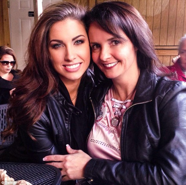 Backlash: Katherine Webb, left, and Dee Dee McCarron were criticized for remarks aimed at Winston